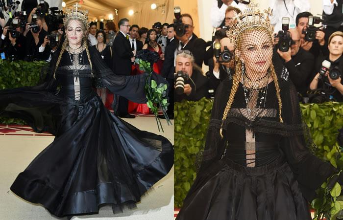Gala del Met: Así fue la tan esperada presentación de Madonna