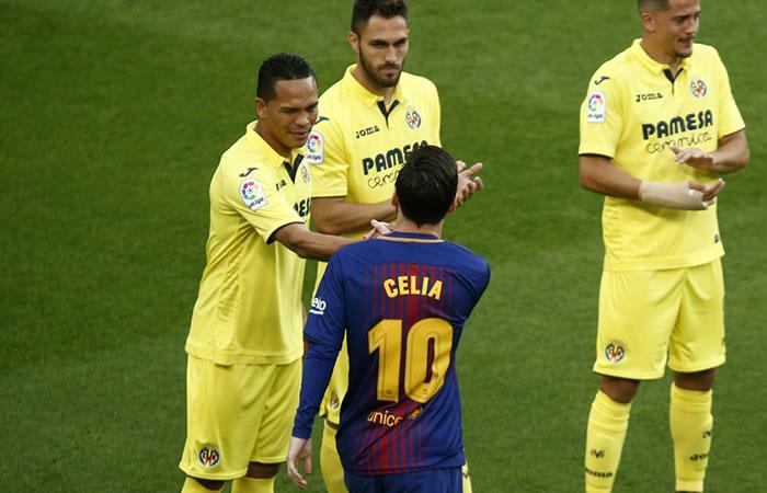 Carlos Bacca y Villarreal sí le hicieron el pasillo al campeón Barcelona