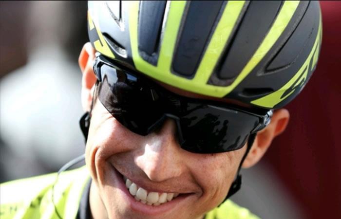 Giro de Italia: Esteban Chaves el mejor colombiano de la quinta etapa