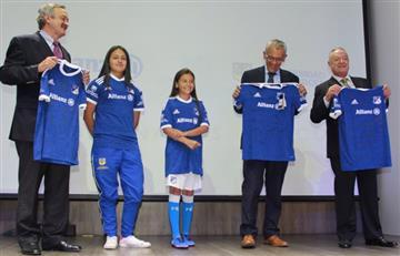 Millonarios presentó su equipo femenino
