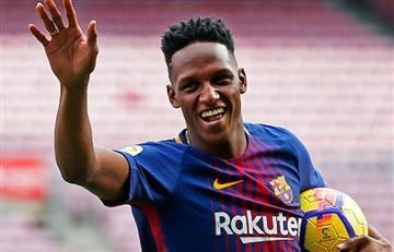 Yerry Mina se quedaría en el Barcelona para la siguiente temporada