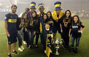 Boca Juniors campeón con cuatro colombianos en la plantilla