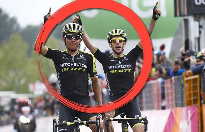 Simon Yates y el humilde gesto que tuvo con Esteban Chaves que aplaude toda Colombia