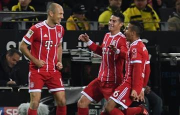 Arjen Robben seguirá siendo compañero de James Rodríguez en el Bayern Múnich