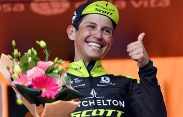 Giro de Italia: Esteban Chaves se mantiene en la clasificación general