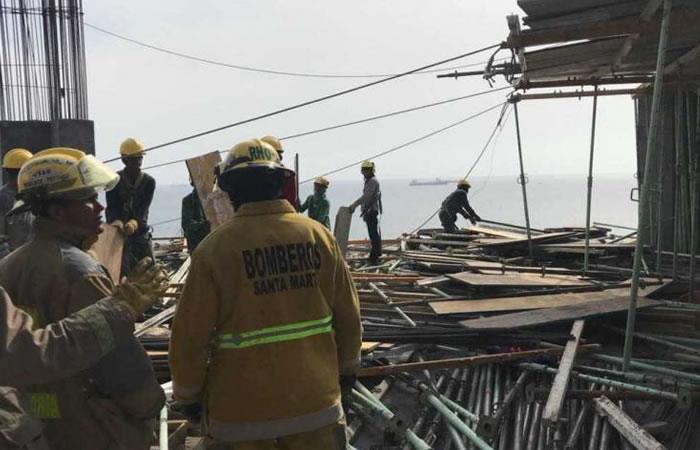 Santa Marta: Desplome en la plataforma del Hilton dejó 9 heridos