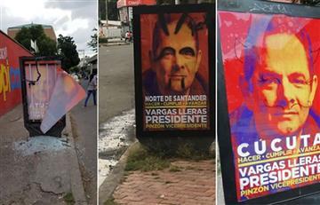 Vargas Lleras sufre ataques en Bogotá y Cúcuta
