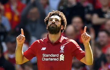 Mohamed Salah recibe un premio que ratifica su gran momento