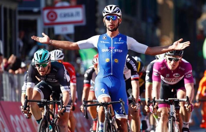 Fernando Gaviria venció a Sagan y se quedó con la primera etapa en el Tour a California
