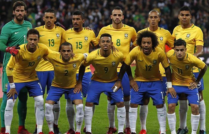 Brasil dio a conocer su artillería de cara a Rusia 2018