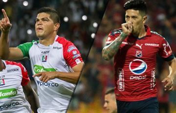 Once Caldas y Medellín ganaron en los cuartos de final