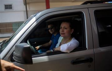 María Corina Machado se reunió con expresidentes colombianos en la frontera