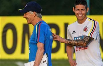 """James Rodríguez: """"Pékerman, es un entrenador que sabe"""""""