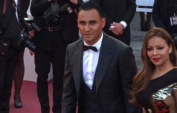 Keylor Navas y su paso por el Festival de Cannes