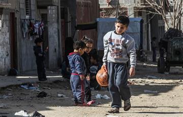 """Netanyahu: """"Hamás coloca a niños en la línea de fuego israelí"""""""
