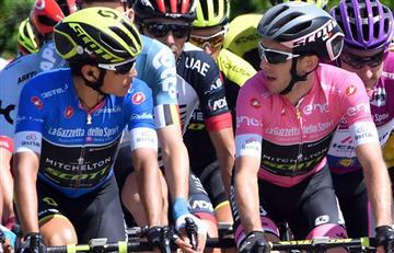 """Simon Yates: """"Estoy decepcionado por que Chaves ha trabajado muy duro para el Giro"""""""