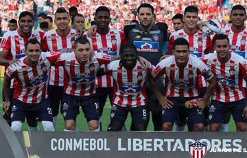 ¿Dónde y a qué hora Juega Junior por la Copa Libertadores?