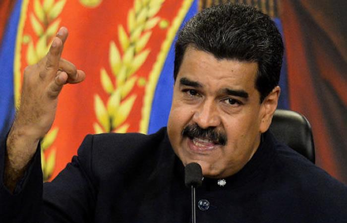 Maduro: 'Me importa un bledo lo que diga Europa, Estados Unidos y Colombia'