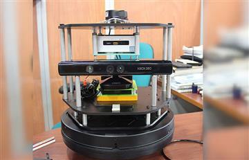 Robot capaz de elaborar mapas bidimensionales