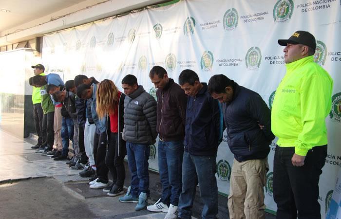 Bogotá: Desmantelan temida banda de 'Los Llaveros' en el centro de la ciudad