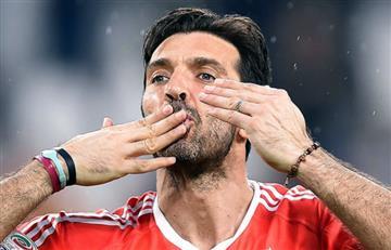 Buffon se despide de la Juventus