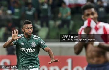 Libertadores: Palmeiras y Miguel Borja eliminan a Junior de la copa