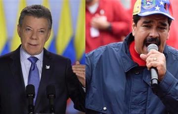 Santos denuncia estrategia de Maduro para que colombianos voten en Venezuela