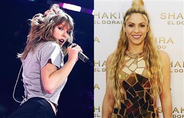 Taylor Swift copia a Shakira y los fans de la colombiana enloquecen