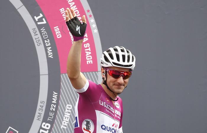 Giro de Italia: Elia Viviani gana la etapa 13 con final de infarto