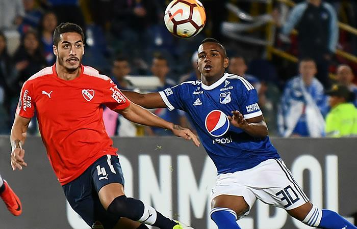 Millonarios-Independiente, Copa Libertadores