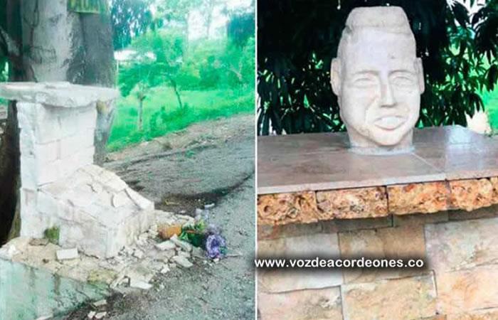 Monumento de Martín Elías desaparece en el lugar de su muerte