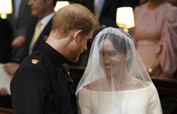 Enrique de Inglaterra y Meghan Markle ya son marido y mujer