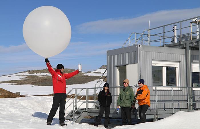 Estudian nubes de la Antártica para medir efectos del cambio climático
