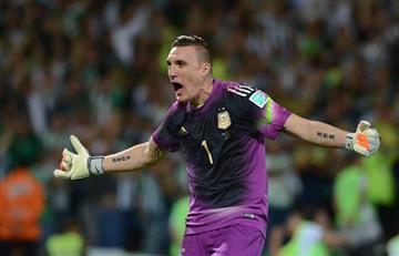 Franco Armani irá al Mundial de Rusia con la selección de Argentina