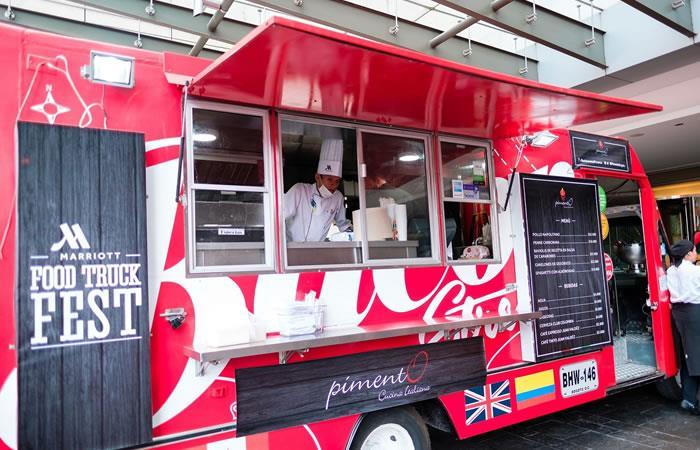 Marriott Food Truck Fest, una fiesta gastronómica en Bogotá