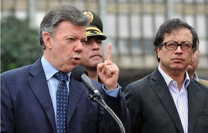 Santos niega riesgo de fraude electoral denunciado por Petro
