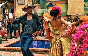 Will Smith muestra lo mejor del rodaje en Cartagena