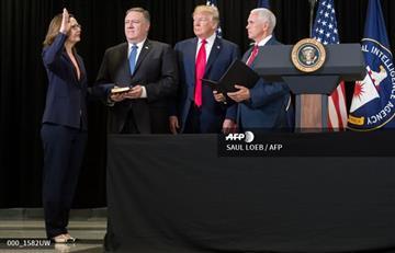EE.UU: Gina Haspel, primera mujer en dirigir la CIA