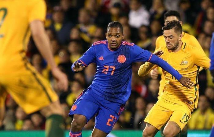 José Izquierdo llegó a Bogotá para unirse a la selección Colombia