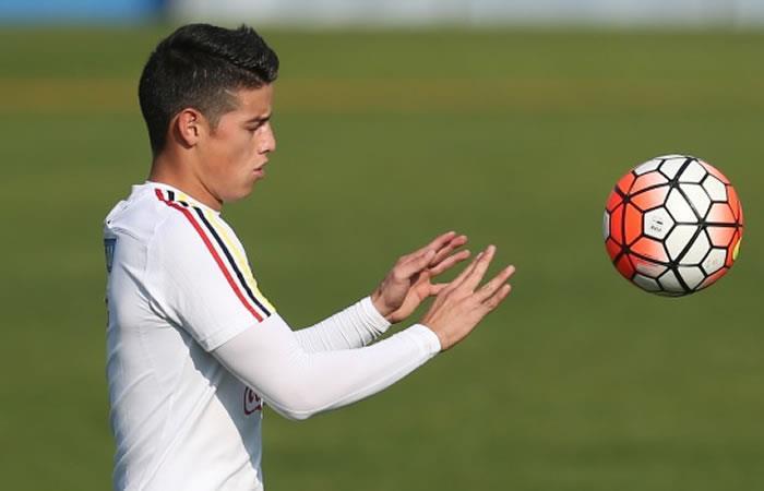 ¿Por qué James Rodríguez no llegó a Bogotá para entrenar con la selección Colombia?