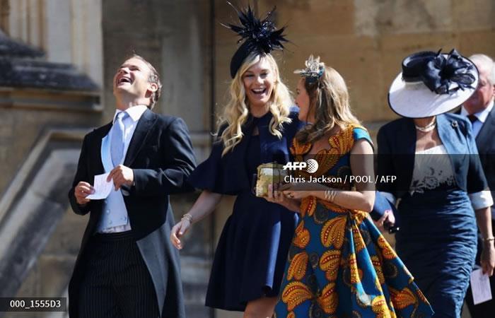 Chelsy Davy, la ex del príncipe Enrique se convirtió en 'meme' de la boda real