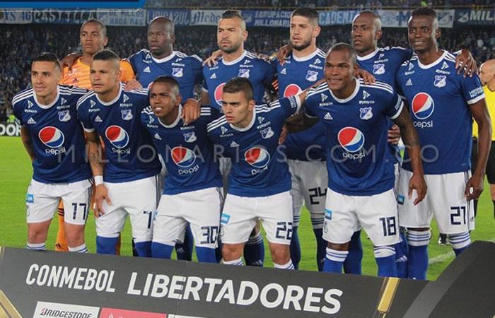 ¿Dónde y a qué hora juega Millonarios por la Copa Libertadores?