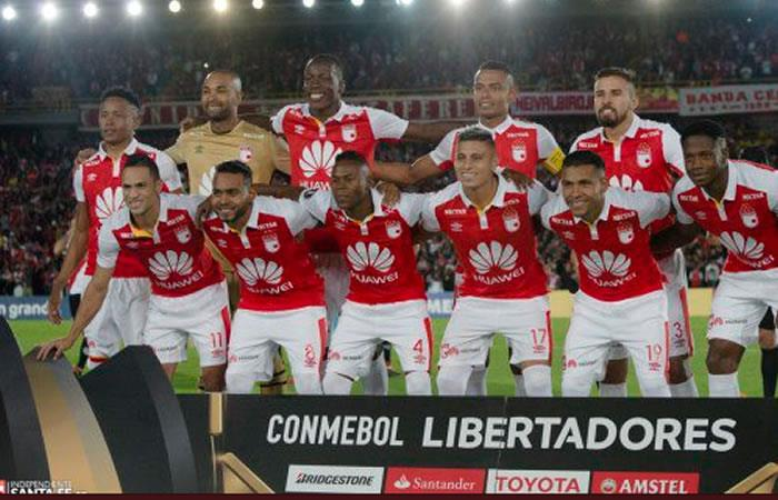 ¿Dónde y a qué hora juega Santa Fe por la Copa Libertadores?