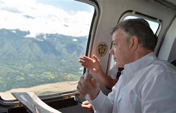 Hidroituango: Santos afirma que para este miércoles finalizará riesgo de avalancha
