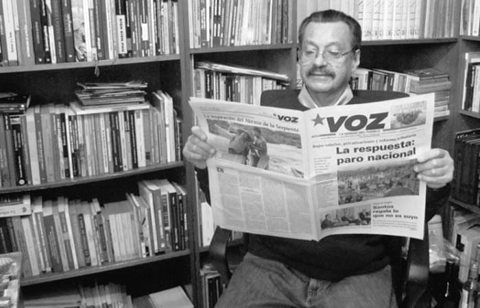Falleció el destacado periodista Carlos Lozano Guillen
