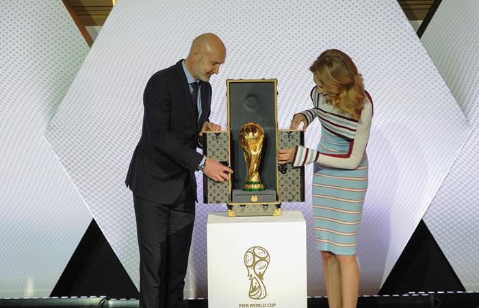 La copa Mundial de Rusia 2018 será custodiada por Louis Vuitton