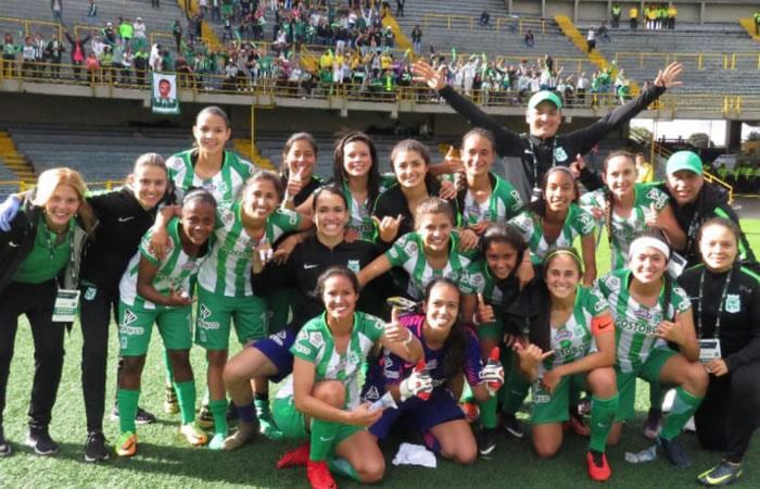 Liga Femenina: Atlético Nacional ganó y sueña con llevarse el título
