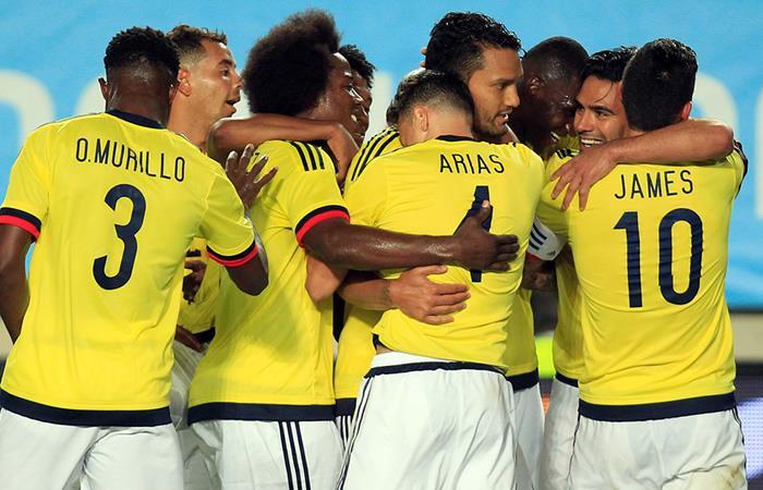 Selección Colombia. Foto: AFP