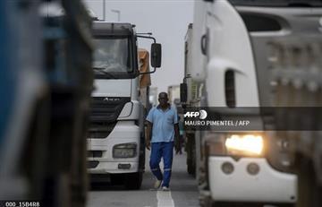 Brasil a media máquina tras cuatro días de una huelga de camioneros