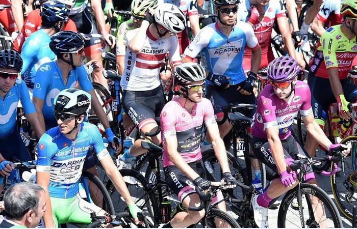 Giro de Italia: Así les fue a los colombianos en la etapa 19